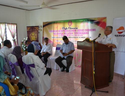 PROGRAM BERKELOMPOK BANTU ISTERI NELAYAN – KERJASAMA YDSM & REPSOL MALAYSIA